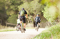 Local Mountain Bikers on Trail