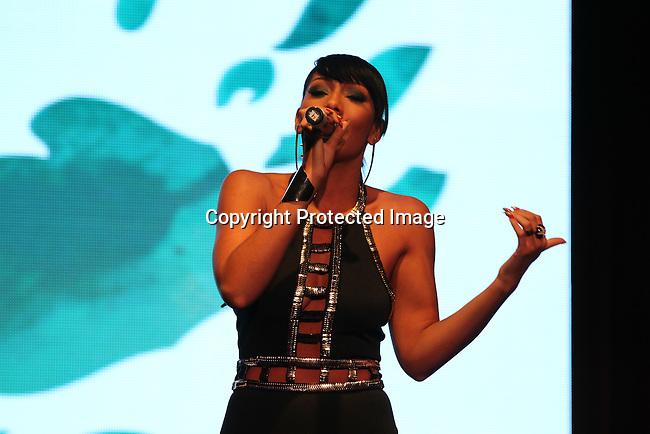 Bridget Kelly Performing at Unik Ernest's Edeyo Gives Hope Ball Held at the Highline Ballroom, NY