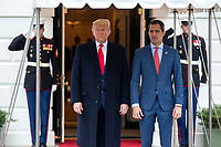 United States President Donald J. Trump Meets with Venezuelan opposition leader Juan Guaido at the W