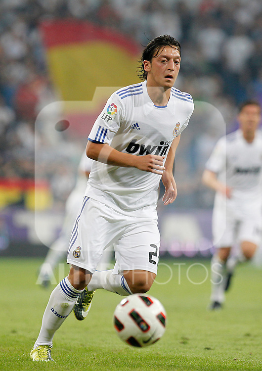Madrid (11/09/10).- Estadio Santiago Bernabeu..Campeonato Nacional de Liga 2ª Jornada..Real Madrid 1- Osasuna 0.Mesut Ozil...© Alex Cid-Fuentes/ALFAQUI