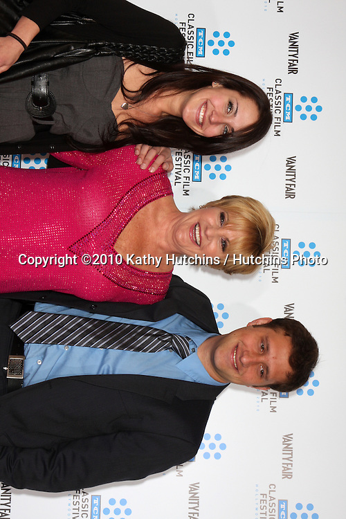 """.Lorna Luft & Her chilldren.arrives at the """"A Star is Born"""" Restored Print World Premiere , part of the Turner Classic Movie Channel Classic Movie Festival.Grauman'S Chinese.Los Angeles, CA.April 22, 2010.©2010 Kathy Hutchins / Hutchins Photo..."""