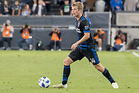 San Jose, CA - Thursday January 21, 2016: Jackson Yueill during a Major League Soccer (MLS) match between the San Jose Earthquakes and the New York Red Bulls at Avaya Stadium.