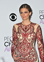 Stana Katic in the pressroom at the 2014 People's Choice Awards at the Nokia Theatre, LA Live.<br /> January 8, 2014  Los Angeles, CA<br /> Picture: Paul Smith / Featureflash