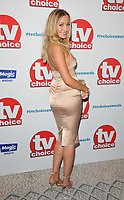 Tilly Keeper at the TV Choice Awards 2018, The Dorchester Hotel, Park Lane, London, England, UK, on Monday 10 September 2018.<br /> CAP/CAN<br /> &copy;CAN/Capital Pictures
