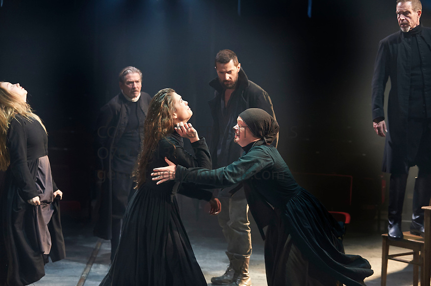 john proctor versus abigail williams in the crucible by arthur miller The unexplained hysteria in arthur miller's the crucible  introduces the play with the witch abigail williams, whose witchcraft hysteria is due to her carnal.