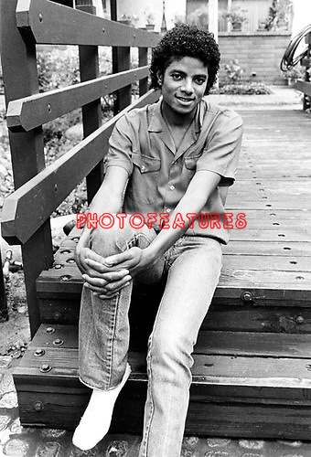 Michael Jackson 1981.© Chris Walter.