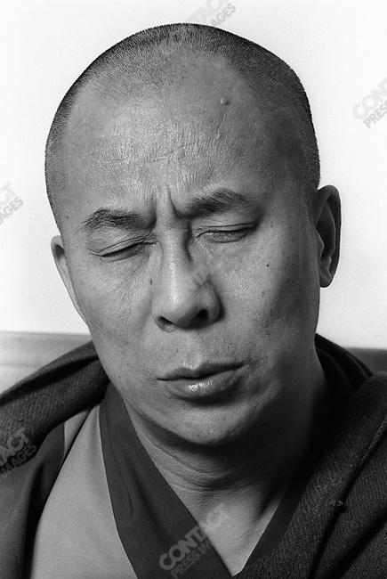 The 14th Dalai Lama, Tenzin Gyatso. Dharamsala, India, November 1979