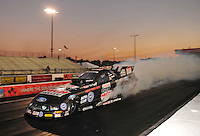 Jan. 19, 2012; Jupiter, FL, USA: NHRA funny car driver John Force during testing at the PRO Winter Warmup at Palm Beach International Raceway. Mandatory Credit: Mark J. Rebilas-