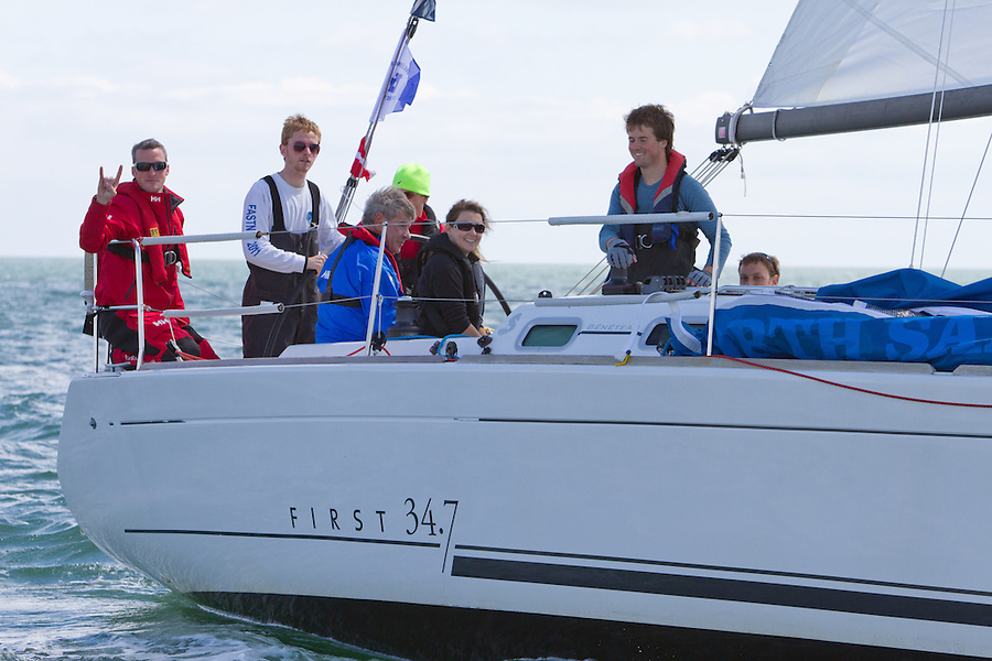 The Round Ireland Yacht Race 2012.The race will start from Wicklow Bay at 12 noon on Sunday 24th June 2012, the 704 nautical mile race was first held in 1980 and still retains the original course; ?leave Ireland and all its islands excluding Rockall to starboard..2012 mark's the 32nd anniversary of Ireland's premier off-shore sailing event, organised by Wicklow Sailing Club in association with Royal Ocean Racing Club (RORC).