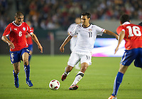 Carson, Ca-January 22, 2010: Chris Wondolowski of the USA men's national team during a 1-1 tie with Chile at the Home Depot Center in Carson, California.
