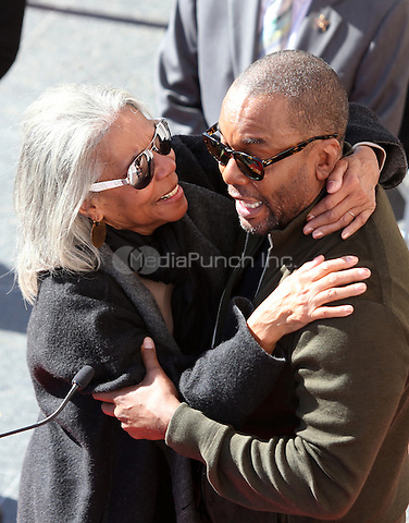 "Hollywood, CA - DECEMBER 02: Clara Watson, Lee Daniels, At Lee Daniels Honored With Star On The Hollywood Walk Of Fame"" At Pacific Theatres at the Hollywood Walk Of Fame, California on December 02, 2016. Credit: Faye Sadou/MediaPunch"