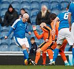24.3.2018: Rangers legends match:<br /> John MacDonald and Alex Rae