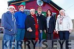 Christmas in Abbeyfeale.<br /> L to r: Jim Cahill, James and Hillary Collins, Maurice and Esther O'Connell and Geradine O'Brien.