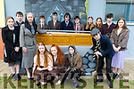 Mercy Mounthawk cast of Big Maggie at the school on Monday.<br /> Front l-r, Megan Tyrrell, Dakota Carter O&rsquo;Flynn, Aisling O&rsquo;Shea, Emily Heaslip, Judith Waugh and Padraig Harrington.<br /> Back l-r, Darach Gallagher, Eoin O&rsquo;Connor, D&aacute;ire Doyle O&rsquo;Brien, Eli Maguire, Pablo Lopez, Sarah Egan, Keela Hughes, Matthew Dineen, Hannah Tansley.