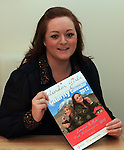 Niki Stanford who is climbing Mount Killmanjaro for Charity with the calendar produced to raise funds...(Photo credit should read Jenny Matthews www.newsfile.ie)....This Picture has been sent you under the conditions enclosed by:.Newsfile Ltd..The Studio,.Millmount Abbey,.Drogheda,.Co Meath..Ireland..Tel: +353(0)41-9871240.Fax: +353(0)41-9871260.GSM: +353(0)86-2500958.email: pictures@newsfile.ie.www.newsfile.ie.
