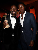 BEVERLY HILLS - JANUARY 7: L-R: Sterling K. Brown and Damson Idris attend the 2018 Fox Nominee Party for the 75th Annual Golden Globe Awards at the Fox Terrace on the Roof Deck of the Beverly Hilton on January 7, 2018, in Beverly Hills, California. (Photo by Frank Micelotta/Fox/PictureGroup)