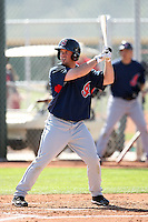Tim Fedroff, Cleveland Indians 2010 minor league spring training..Photo by:  Bill Mitchell/Four Seam Images.