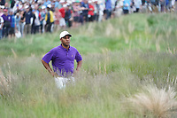 Harold Varner III (USA) on the 18th during the final round at the PGA Championship 2019, Beth Page Black, New York, USA. 20/05/2019.<br /> Picture Fran Caffrey / Golffile.ie<br /> <br /> All photo usage must carry mandatory copyright credit (© Golffile | Fran Caffrey)