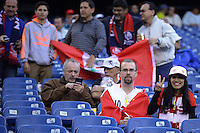 Action photo during the match Brasil vs Peru at Gillette Stadium Copa America Centenario 2016. ---Foto  de accion durante el partido Brasil vs Peru , En el Estadio Gillette Partido Correspondiante al Grupo - B -  de la Copa America Centenario USA 2016, en la foto: Fans<br /> <br /> -- 12/06/2016/MEXSPORT/Adrian Macias.