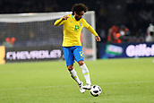 27th March 2018, Olympiastadion, Berlin, Germany; International Football Friendly, Germany versus Brazil; Marcelo (Brazil) in action