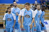 Liga Endesa ACB. Jornada 1. CB Breogan - Joventut de Badalona. Pazo Universitario dos Deportes. Partido suspendido por fallos tecnicos.