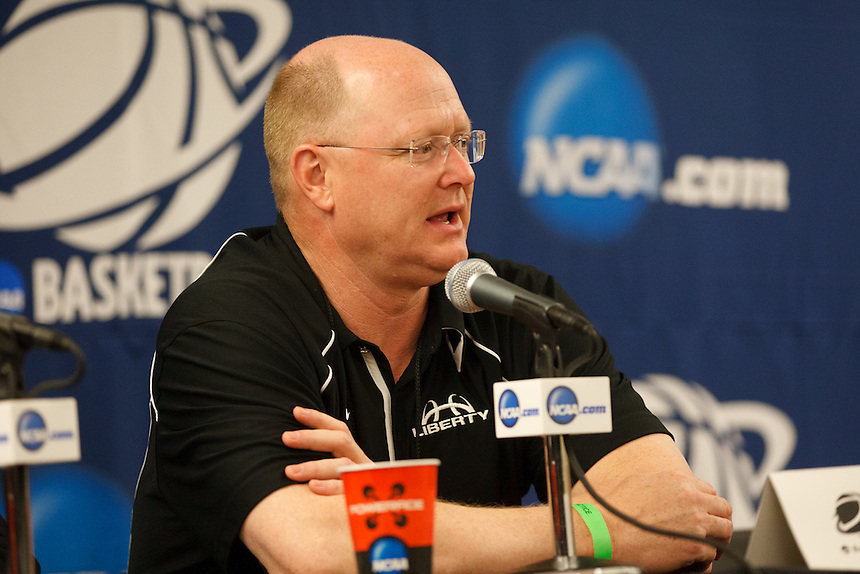 Head coach Carey Green responds to reporters' questions at Saturday Press Conference.