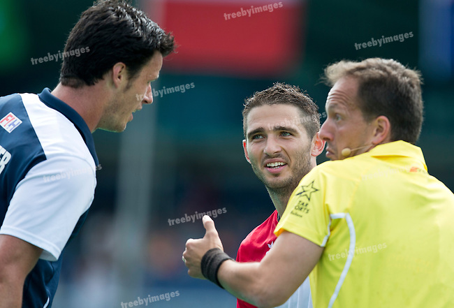 24/06/2015<br /> HWL Semi Final Antwerp Belgium 2015<br /> France v Poland Men<br /> <br /> Photo: Grant Treeby