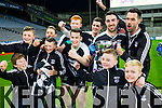 Ardfert players celebrate after winning the Intermediate All Ireland Club Final in Croke Park on Saturday.