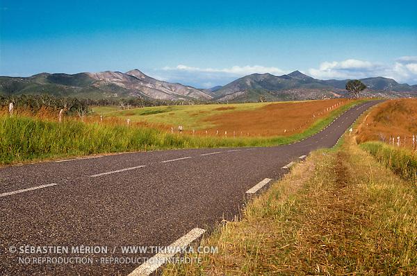 Route du Nord, région de Poum, Nouvelle-Calédonie