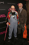 Larry Kramer and William David Webster attends 'The Boys in the Band' 50th Anniversary Celebration at The Booth Theatre on May 30, 2018 in New York City.