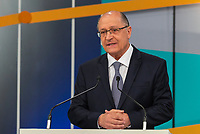 SÃO PAULO, SP, 09.09.2018 - ELEIÇÕES-2018 - O candidato Geraldo Alckmin (PSDB) à presidência durante o debate entre candidatos à presidência do Brasil na GAZETA (Fundação Cásper Líbero), neste domingo, 09, em São Paulo. (Foto: Anderson Lira/Brazil Photo Press)