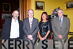 Danny Healy Rae, Denis Reidy, Lily Cronin and Dan Kelliher at the Muckross House 50th anniversary celebrations on Sunday evening