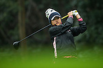 Michelle Koh of Malaysia tees off at the 14th hole during Round 1 of the World Ladies Championship 2016 on 10 March 2016 at Mission Hills Olazabal Golf Course in Dongguan, China. Photo by Victor Fraile / Power Sport Images