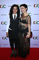13 April 2019 - Las Vegas, NV - Mandahla Rose, Nicole Pacent. 2019 ClexaCon Cocktails for Change at The Tropicana Hotel. <br /> CAP/ADM/MJT<br /> &copy; MJT/ADM/Capital Pictures