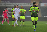 Pictured: Omar Richards of Reading (R) Monday 15 May 2017<br />