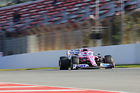 26th February 2020; Circuit De Barcelona Catalunya, Barcelona, Catalonia, Spain; Formula 1 Pre season Testing Two; BWT Racing Point F1 Team, Lance Stroll