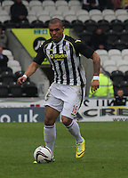 Josh Magennis in the St Mirren v Ross County Scottish Professional Football League Premiership match played at St Mirren Park, Paisley on 3.5.14.