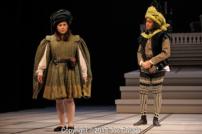 """Mount Holyoke College production photos of """"The Mandrake"""""""