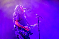 SLAYER photographed on their Farewell Tour at the Five Points Amphitheater in Irvine, CA USA on May 11, 2018.  <br /> CAP/MPI/KE<br /> &copy;KE/MPI/Capital Pictures
