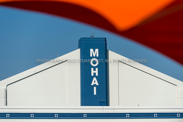 """9/13/2012--Seattle, WA, USA...The Museum of History and Industry (MOHAI) will open later in 2012 in the former Naval Reserve Training Center, or """"Armory,"""" in Seattle's South Lake Union neighborhood...Accredited by the American Association of Museums, MOHAI is """"dedicated to enriching lives by preserving, sharing and teaching the diverse history of Seattle, the Puget Sound region and the nation.""""..Exhibits include Boeing B-1 seaplane (Boeing's first plane), the Rainier Brewing Company's old red """"R"""" sign and Slo-Mo-Shun IV Hydroplane. MOHAI has around 4 million objects in the collection, including around 100,000 artifacts, and 1.5 million photographs, and extensive archives. Collections focus on Seattle's early settlement (ca. 1850) through present-day, and concentrate on the stories and achievements of Seattle's residents...©2012 Stuart Isett. All rights reserved."""