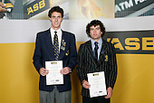 Athletics Boys finalists - Mathew Mildenhall & Alyx Hodgson. ASB College Sport Young Sportsperson of the Year Awards 2006, held at Eden Park on Thursday 16th of November 2006.<br />