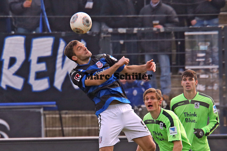Edmond Kapllani (FSV) - FSV Frankfurt vs. TSV 1860 München Frankfurter Volksbank Stadion