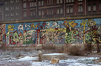 'Graffiti VI' - Berlin Wall west zone.18 November 1989