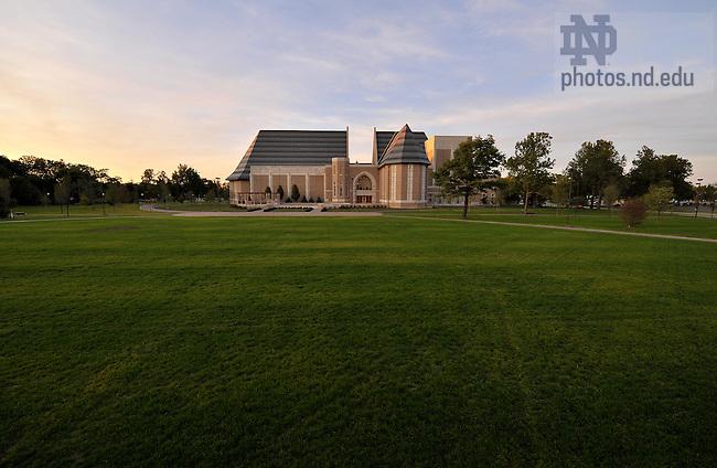 Irish Green..Photo by Matt Cashore/University of Notre Dame