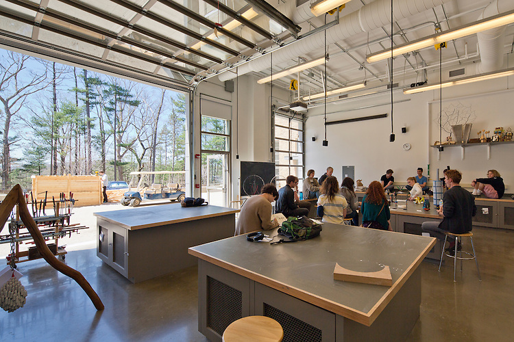 Horvitz Hall Studio Arts Building at Kenyon College | Gund Partnership
