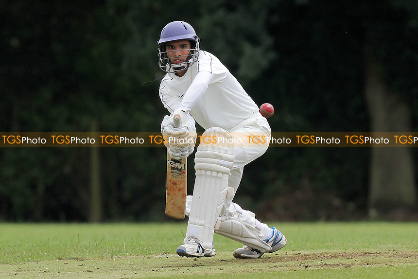 Govinda Tiwari in batting action for Hornchurch - Hornchurch CC 5th XI vs Upminster CC 6th XI - Essex Cricket League at Met Police Sports Ground, Chigwell - 25/06/11 - MANDATORY CREDIT: Gavin Ellis/TGSPHOTO - Self billing applies where appropriate - Tel: 0845 094 6026