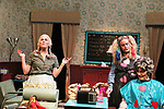 Liz Keifer and Julie Heckert and Maia Guest - Dress rehearsal on November 28, 2017 of Steel Magnolias performed at the Phillipstown Depot Theatre, Garrison, New York. (Photo by Sue Coflin/Max Photo)