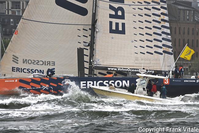 Ericsson Volvo Ocean Race Boston Start
