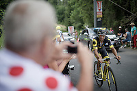 Bryan Coquard (FRA/Direct Energie)<br /> <br /> Stage 18 (ITT) - Sallanches &rsaquo; Meg&egrave;ve (17km)<br /> 103rd Tour de France 2016