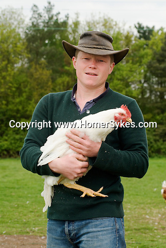 Free range chickens. Fosse Meadows Farm, Sharnford Rd, Frolesworth Lutterworth Leicester LE17 5EE UK